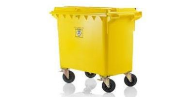 Weber - Model MGB 660 Litre - Mobile Waste Container for Clinical Waste
