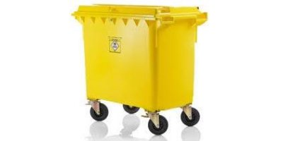 Weber - Model 1100 Litre Fl - Mobile Waste Container for Clinical Waste