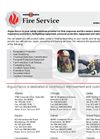 Fire Services Datasheet