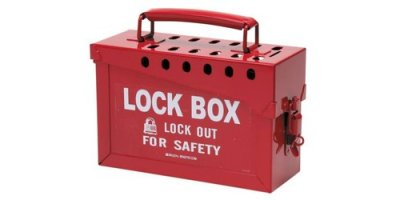 Brady - Portable Metal Lock Boxes