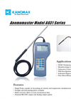 Multi-function Hot-wire Anemometer - A031 Series Brochure