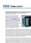 CAS DataLoggers Develops New Low-Cost Temperature Data Logger