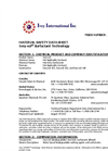 Ivey-sol Surfactant Technology MSDS