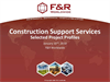 Contruction Support Services Brochure