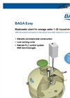 BAGA Easy. Waste Water Plant for Sewage Water Broschure