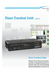 AKCess Pro - Door Control Unit Brochure