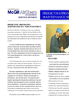 Predictive/Preventive Maintenance Services sheet