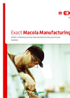 Exact Macola Manufacturing Pro Brochure
