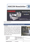 Sewage treatment plant in Finland / ES-301 & ES-202【Amcon E-mail Magazine Vol. 16】