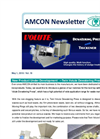 Volute Dewatering Press ES-351 Model for prepared foods factory【Amcon E-mail Magazine Vol. 19】