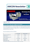 Demonstration at a sewage treatment plant (STP) in the U.S.【Amcon E-mail Magazine Vol. 33】