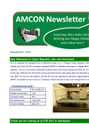 New Reference in Czech Republic - site visit welcomed!! 【Amcon E-mail Magazine Vol.37】