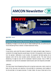 Dewatering of Untreated Wastewater at Soup Factory 【Amcon E-mail Magazine Vol.41】