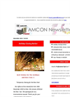 Holiday Closing Notice [Amcon E-mail Magazine Vol.84]