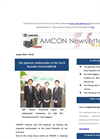 The Japanese Ambassador to the Czech Republic Visited AMCON[Amcon E-mail Magazine Vol.92]