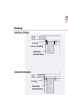 Membrane Gaskets - Sectional Drawing Brochure