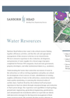 Water Resources Services Brochure