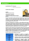 Landfill Gas‐to‐Energy Design and Support Services Datasheet
