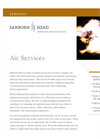 Air Services Brochure