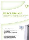 Model Select Analyst series - Water Purification Systems Brochure