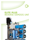 Elite - Model Plus - Reverse Osmosis Units Brochure