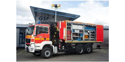 Bruns - Model 300-034 - Fire-Brigade Roll-off Container