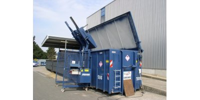 Bruns - Model 120 - 240 Ltr. - Lift-Tilt Device for Special Pouring Height for Large Waste Containers