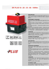 Quarter Turn Electric Actuator ER Plus Series- Brochure