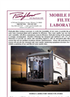 Mobile Pilot Filter Laboratory - Brochure