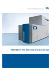 VACUDEST - The Effective Distillation System - Brochure