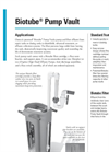 Model PBF - Fiberglass Pump Basins - Brochure