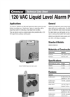 Model AMLAHW - Liquid Level Alarm Panel - Brochure