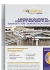 Activated Sludge Wastewater Treatment Plant Brochure