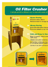 Oil Filter Crusher Brochure