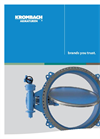 Krombach - Model AK120 - Double-Offset Butterfly Valve Brochure