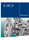 XOMOX - Process Two Piece Ball Valves Brochure