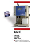 Model CT200 - On-Line UV COD Analyser  Brochure