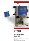 Model NT200 - On Line Nitrate Analyser Brochure