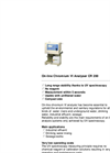 Model CR200 - On-Line Chromium VI Analyser Brochure