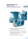 Washing Lines for Contaminated Plastics – Brochure
