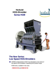 Herbold HOG-Shredder - Series HGM – Brochure