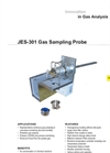 JES-301 Heated Gas Sample Probe - Datesheet