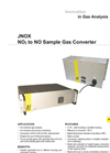 JCT - Model JNOX Series - NO2 to NO Converter - Brochure