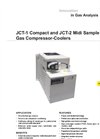 JCT-1 & JCT-2 Compact and Midi Sample Gas Compressor-Coolers Datasheet