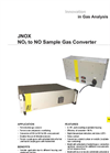 JNOX NO2 to NO Sample Gas Converter Datasheet