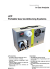 JCP Portable Gas Conditioning Systems Datasheet