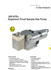 JSP-87Ex Explosion Proof Sam­ple Gas Pump Datasheet