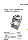 JCC-R / JCC-Q / JCC-P / JCC-L Gas Conditioning Systems Datasheet