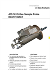 JES-301G Gas Sampling Probe Steam Heated - Datasheet
