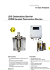 JDS & JDSB Detonation Barrier & Heated Detonation Barrier Datasheet
